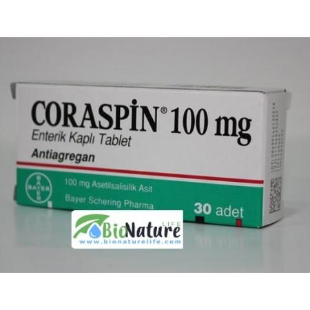 КОРАСПИН 100 мг. АСПИРИН ПРОТЕКТ 30 ТАБЛЕТКИ