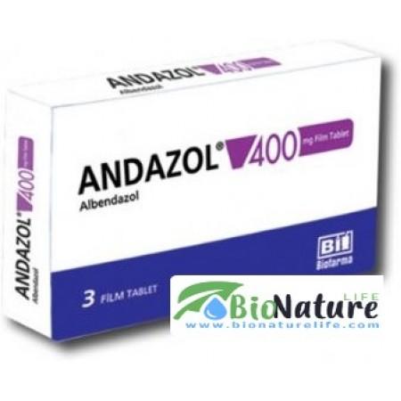 Андазол-400 Зентел Zentel