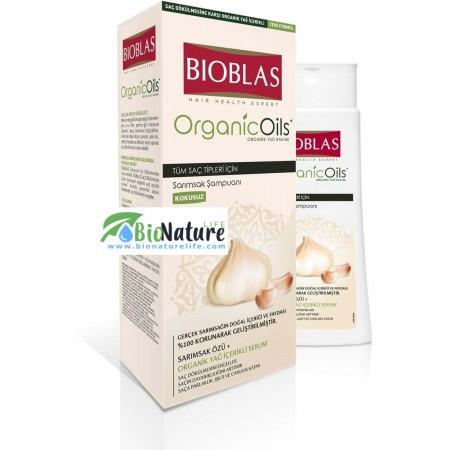 Шампоан Биоблас с органично масло от Чесън