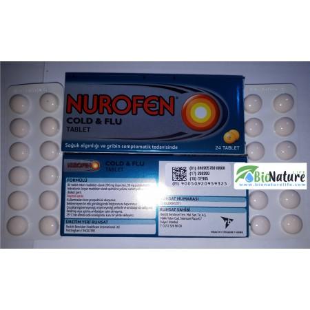 Нурофен спри грипа