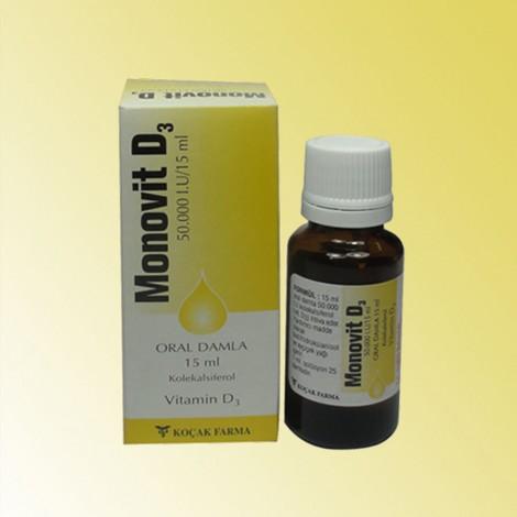 Витамин-Д-3 Monovit D-3 на капки
