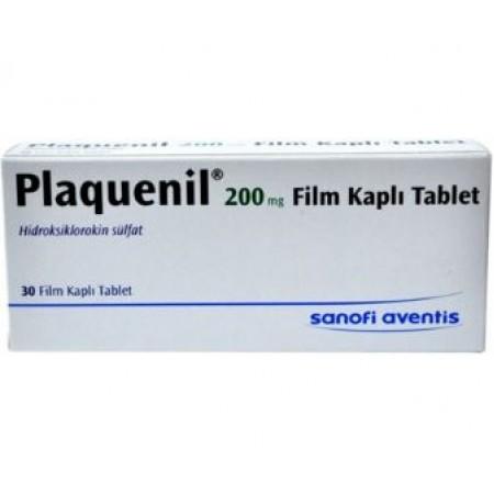 Плакенил Plaquenil Резохин Resochin -200mg